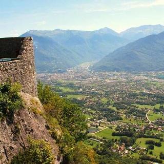 La Vallée de l'Isère depuis le Fort de Tamié
