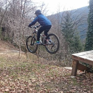 Mountainbike-Arena Preschan_Springen Frei