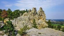 Harzer Teufelsmauerstieg zwischen Neinstedt und Blankenburg