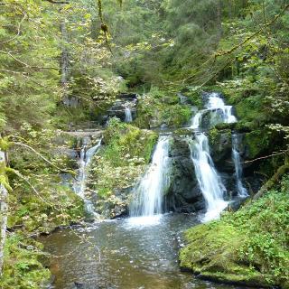 Wasserfall Rötenbachschlucht