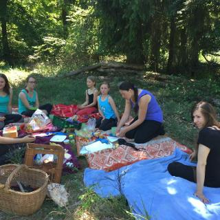 Picknick im Hammer Wald