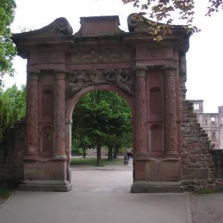 Elisabethentor Schloss Heidelberg