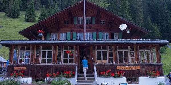 Berghaus Iffigenalp.