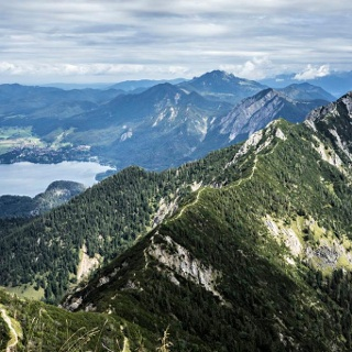 Bergtour - Gratwanderung vom Heimgarten zum Herzogstand