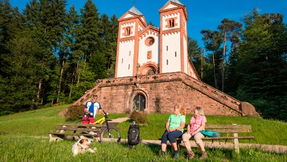 Rast an Gruftkapelle (Basilika Maria Schnee)