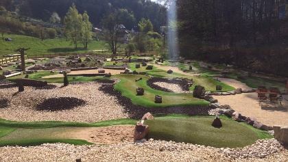 RÄUBERLAND Adventure Golfanlage