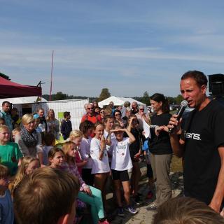 Siegerehrung Kinderstafette 2016