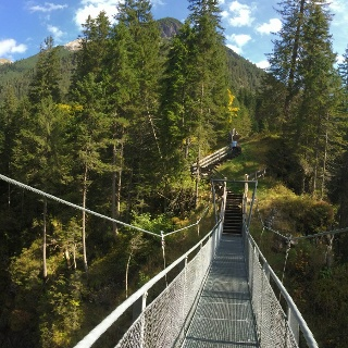 Hängebrücke Panorama