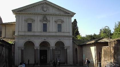 """The catacombs of San Sebastiano are located underneath the basilica """"San Sebastiano Fuori Le Mura""""."""
