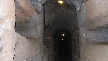 The catacombs of San Callisto