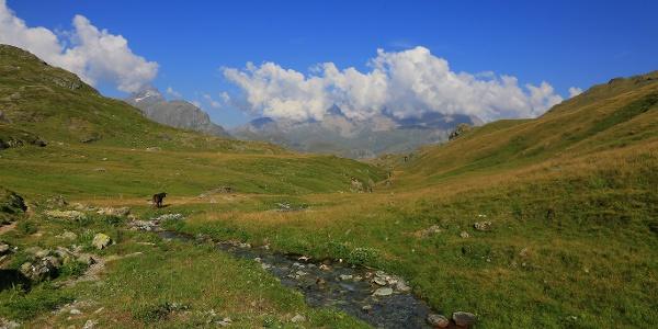 Die Exploratour führt durch diese schöne Landschaft.