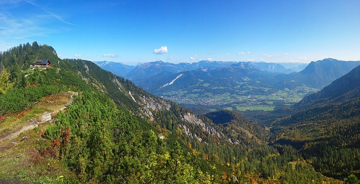 Panorama über Bad Goisern