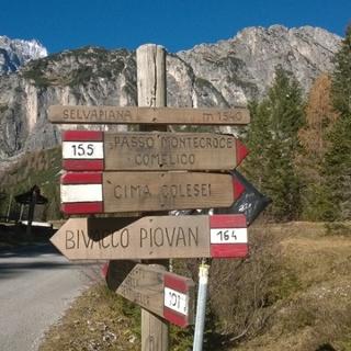 Partenza dal Passo Monte Croce Comelico