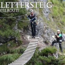 Grünstein Klettersteig Hotelroute