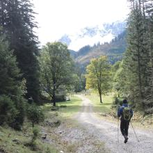 Foto von Bergtour: Vom Karwendelhaus zur Falkenhütte (Karwendelgebirge) • Seefeld (30.09.2017 18:49:09 #1)