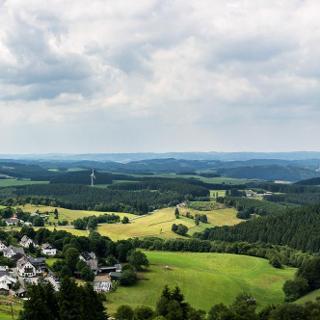 Sundern Wildewiese Panorama Aussichtsturm