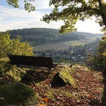 Foto von Wanderung: Durch die Margarethenschlucht • Odenwald (02.10.2017 00:08:01 #2)