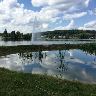 Fontaine am Airlebnisweg