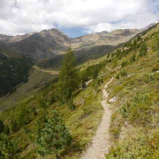Blick über das Flatschbergtal
