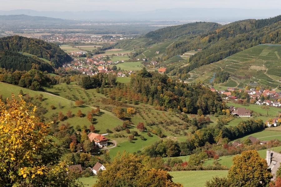Radtour in das Oberglottertal und Ahlenbachtal