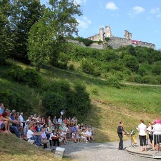 Schlossberg-Arena: Konzert im Sommer