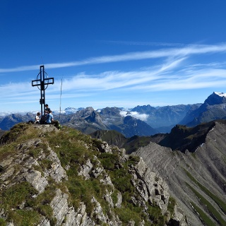 Der Gipfel des Druesberg.