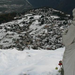 Fai della Paganella dal monte Fausior