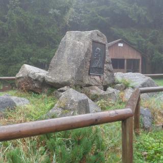 Gedenkstein Victor von Scheffel (Rennsteiggedicht)