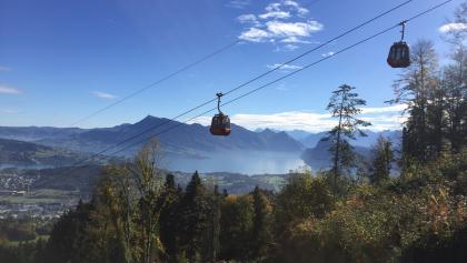 4. Following the cable car to Kriens