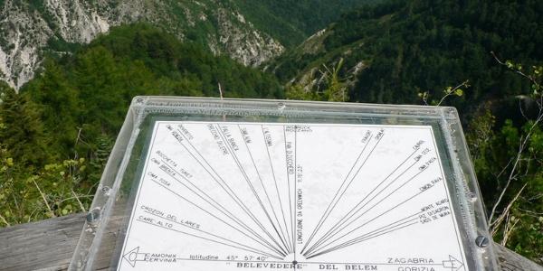 Il punto panoramico del Belvedere