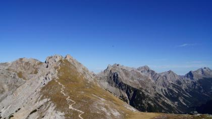 Im Abstieg von der Rotwandlspitze