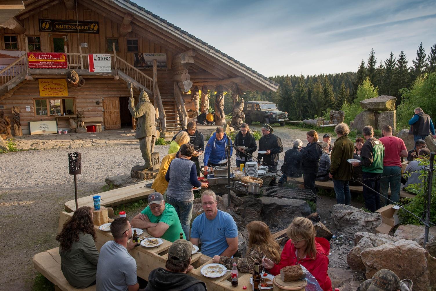 Hütte bei Blockhausen -