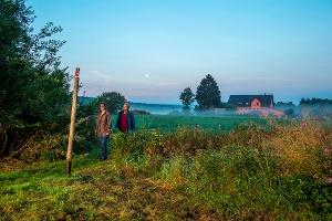 Mitten durch die Natur(Foto: Klaus-Peter Kappest, Quelle: Projektbüro Saar-Hunsrück-Steig)