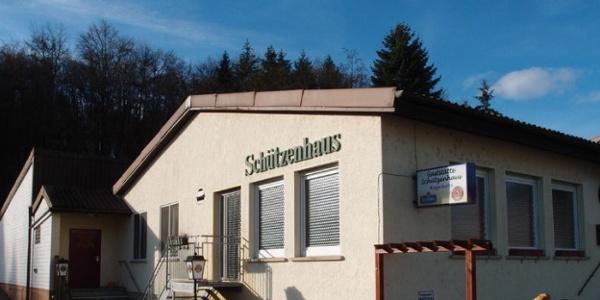 Das Schützenhaus im Ispringen.