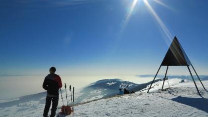 Chasseral, höchster Berg im Berner Jura.