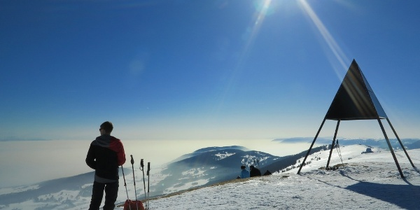 Chasseral Gipfel.