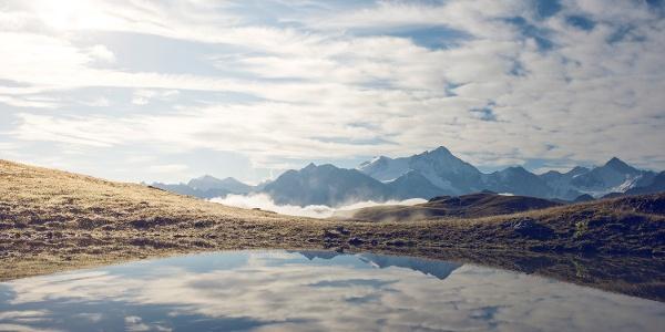 Lac du Louché au-dessus de Vercorin