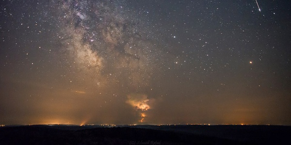 Csillaghullás a Zselicben