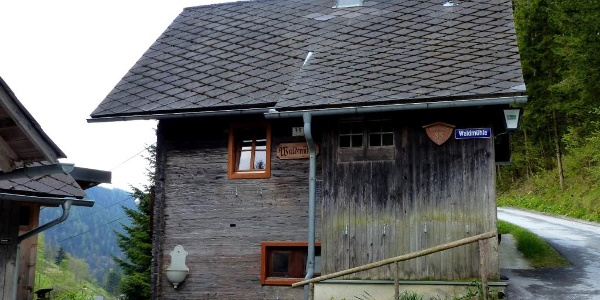 Jausenstation Waldmühle am Raabursprung-Weg