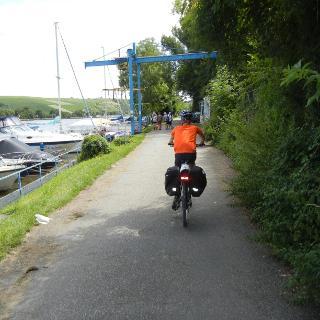 Neckartal-Radweg.