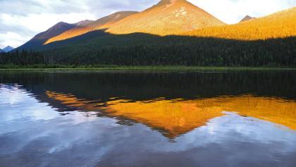 Indianpoint Lake, Camp-Ground #8 - Abendstimmung