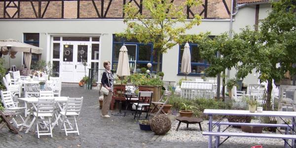 Patisserie Bergmann - Innenhof