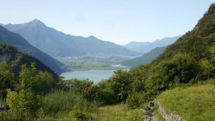 Ausblick auf den Lago di Mezzola