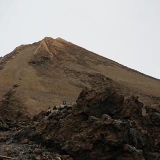 Teide von der Bergstation aus