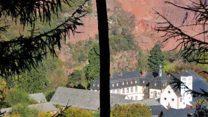 Steinbruch Taben mit Propstei St. Josef