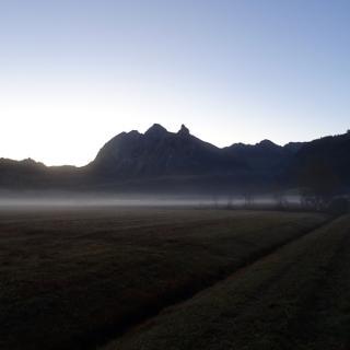 0400 Frühmorgens im Oktober bei 1.5 Grad Celsius   47°04'43.0