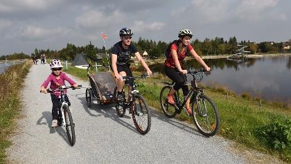Radfahren am Galgenteich
