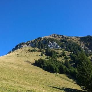 12:17 nach 57 Minuten ist der Gipfel in Sicht