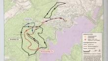 Nordic Walking Park - Blaue Strecke