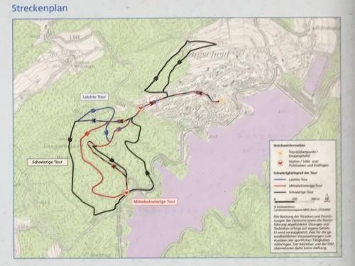 Nordic Walking Park Sorpesee - Rote Strecke